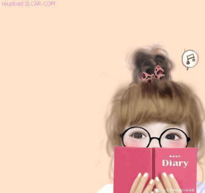 trend terbaru wallpaper gambar animasi kartun korea