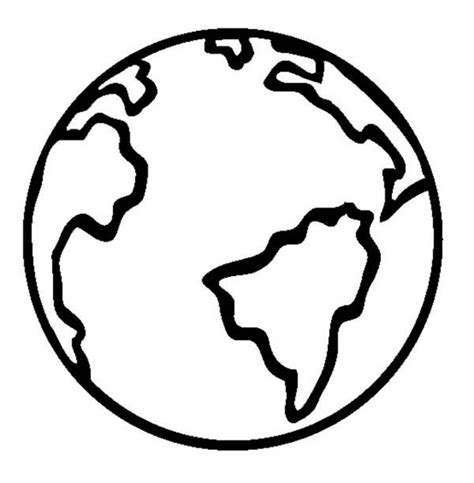earth template get this free earth coloring pages to print v5qom