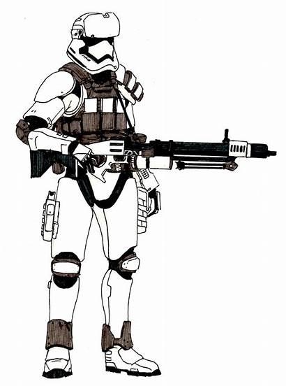 Order Gunner Heavy Deviantart Stormtrooper Wars Star