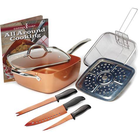 copper chef reviews alternatives    stick pans