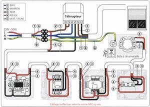 Branchement Volet électrique : notices de c blage branchement de volets roulants ~ Melissatoandfro.com Idées de Décoration
