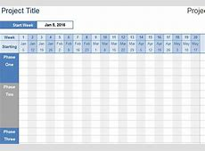 Project Timeline Spreadsheet » Template Haven