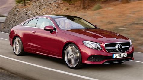 2017 Mercedes-benz E-class Coupe Revealed