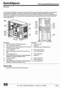 Hp Proliant Ml350 G6 User Manual