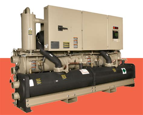 series  helical rotary chiller model rtwd water cooled