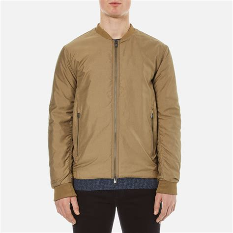 light bomber jacket mens selected homme men 39 s new light bomber jacket desert