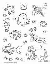 Aquarium Printables Coloring Printable Ocean Doll Valentines Sheet Ellison Education Visiting Orcas Mini Play Felt sketch template