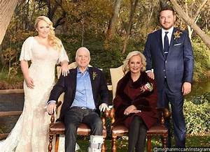 mccain explains why his boot was on a different foot With meghan mccain wedding dress