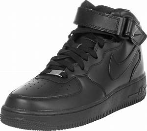 Nike Air Force 1 Mid Youth GS shoes black