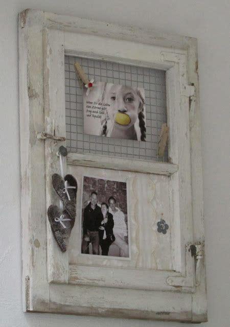 Alte Bilderrahmen Dekorieren by Shabby Chic Co Das Alte Fenster Neu Dekoriert