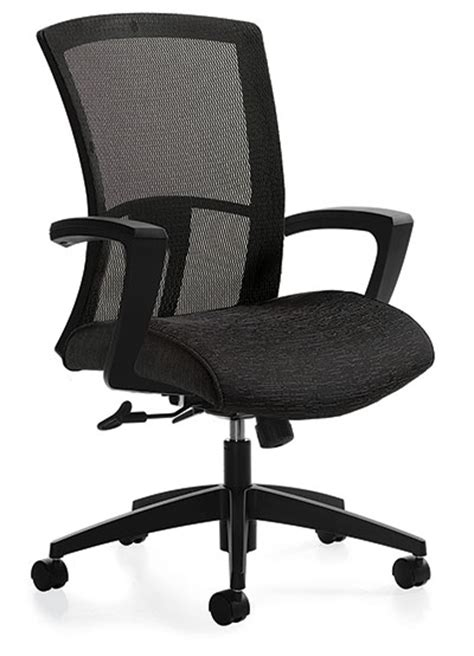 global vion 6321 4 in stock black mesh office chair from