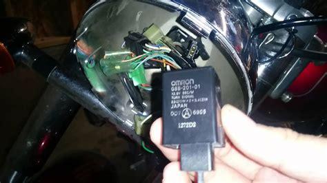 turn signal relay  honda shadow vt youtube