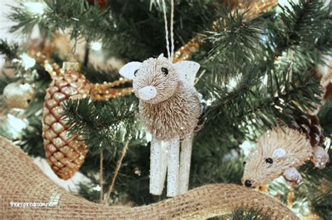 woodland christmas tree ornaments my woodland tree reveal the inspired room