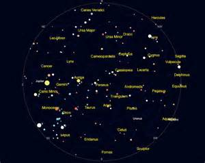 Sky Star Constellations Cassiopeia