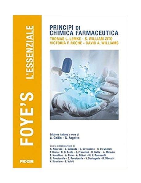 biochimica clinica dispense principi di chimica farmaceutica 6 176 ed it foye