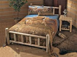 Accessories: Handsome Rustic Bedroom Decoration Using Lion