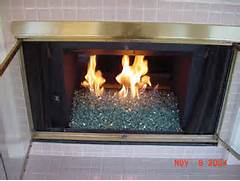 Fireplaces With Glass Rocks Glass Rock Fireplace Inserts Fireplace Glass Installation