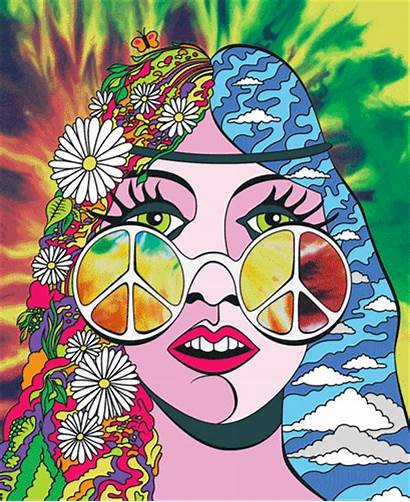 Peace Psychedelic Symbol Trippy Hippie Drawings Easy