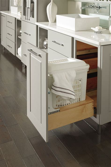 base vanity hamper decora cabinetry