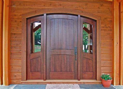 contoh kusen pintu kayu klasik pintu rumah