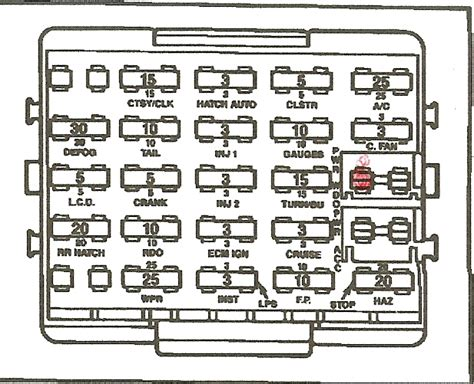 1985 Corvette Fuse Box Diagram by On My 1984 Corvette I Want To Direct Wire To Fuse Box To