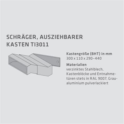 Standbriefkasten Edelstahl 646 by Cenator 174 Mauerdurchwurf Briefkastenanlage 3 F 228 Cher