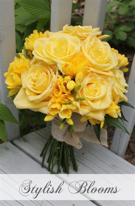 yellow flower arrangements bouquets images