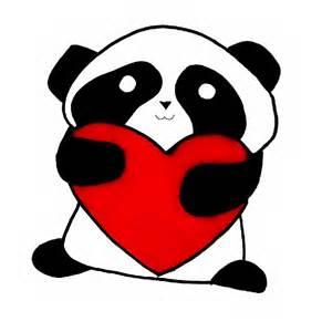 Panda Love Drawings