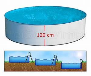 Pool 120 Tief : schwimmbecken future pool rund 550 x 120 cm ~ One.caynefoto.club Haus und Dekorationen