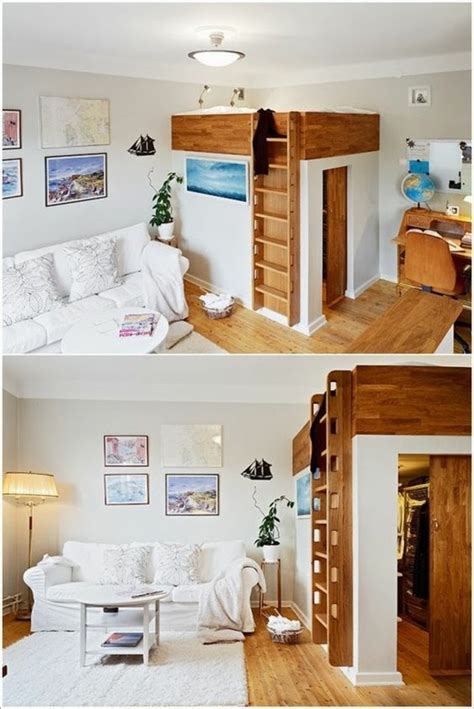 chambre adulte petit espace 1001 idées comment aménager une chambre mini espaces