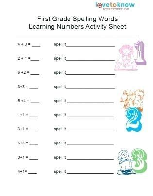 printable math worksheets  st graders schematic