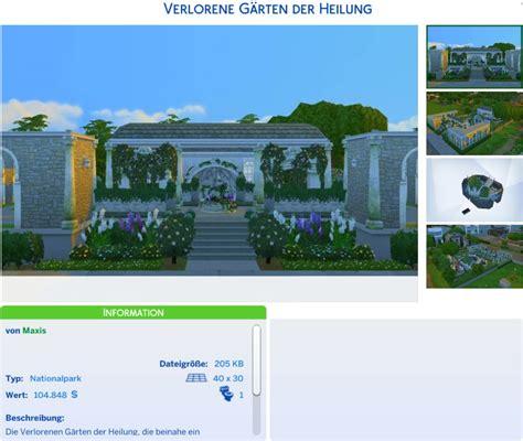 Die Sims 4 Romantische Gartenaccessoires Simension