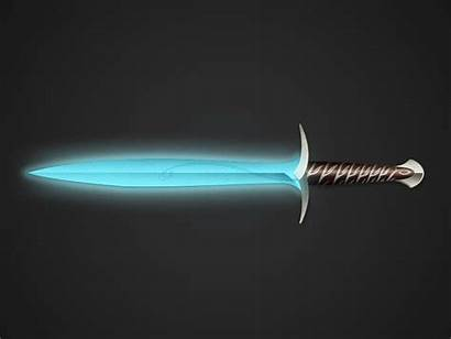 Sprite Sword 2d Animated Glowing Sting Dribbble