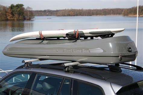 coffre de toit malibu xl avec fixation pour planche de surf coffre de toit prime en grp par mobila