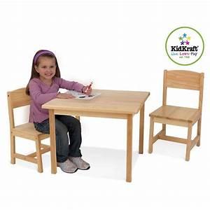 Chaise Et Table Enfant : table enfant et chaises kidkraft ma chambramoi ~ Teatrodelosmanantiales.com Idées de Décoration