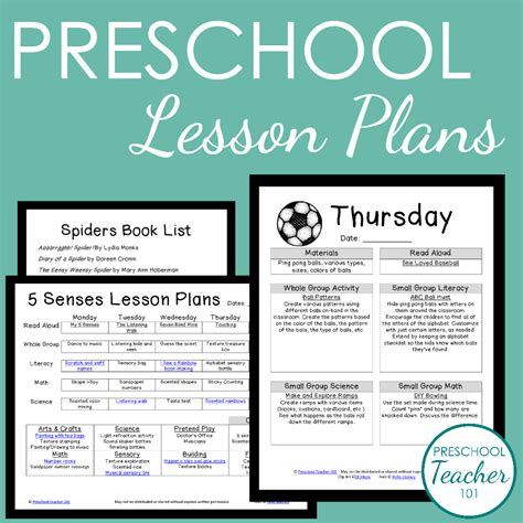 preschool 101 membership preschool 101 168 | Preschool Lesson Plans Sample