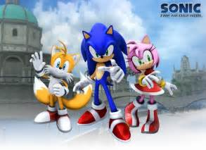 Sonic Tails Games Amy