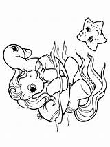 Coloring Pages Pony Horse Poney Bain Coloriage Petit Printable Prend Son Colouring Books Sheets Tortue Cartoon Ponies Drawings Mon Drawing sketch template