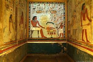 Tombs in Aswan, egyptian wall paintings. | Ancient Egypt ...