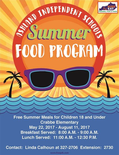 summer feed program charles russell elementary