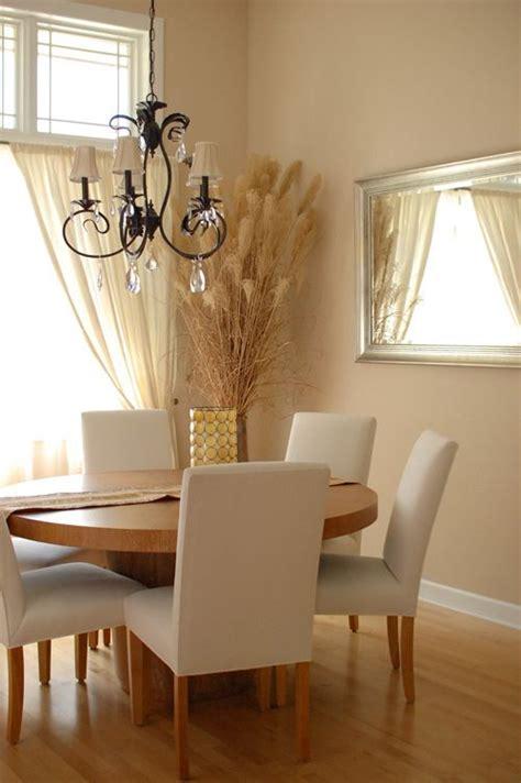 dining room  sherwin williams sand dollar  ivory