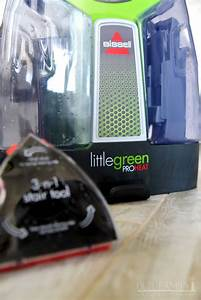 Tackle Messes With Bissell Little Green Proheat Portable