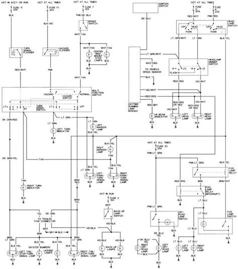 1994 dodge dakota headlight wiring diagram 1999 ram 1500