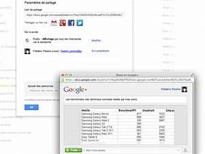 on peut partager des documents de google drive vers google With partage de documents google drive