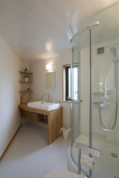 interior breathtaking modern white bathroom decoration