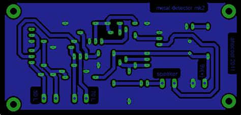 kit komponen metal detector mk ii cara mudah belajar elektronika digital