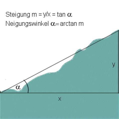 prozent in grad steigung berechnen in prozent steigung in prozent berechnen aus prozent grad berechnen bei