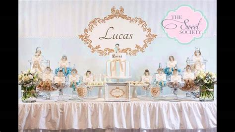 baptism party themes decorations  home ideas youtube
