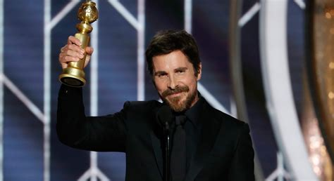 Christian Bale Thanks Satan Golden Globes For