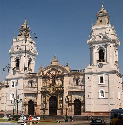 catedral de lima bas 237 lica catedral de lima y primada per 250 megaconstrucciones